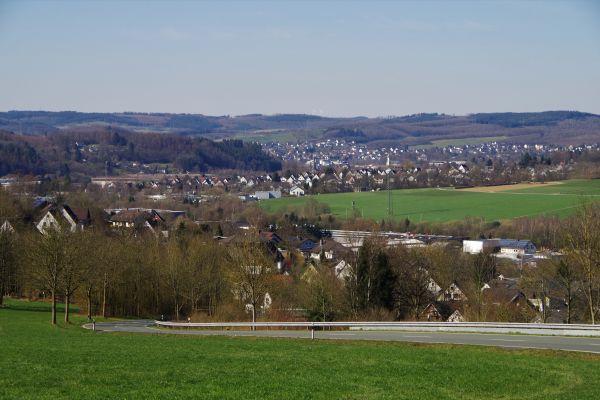 Blick auf Ferndorf